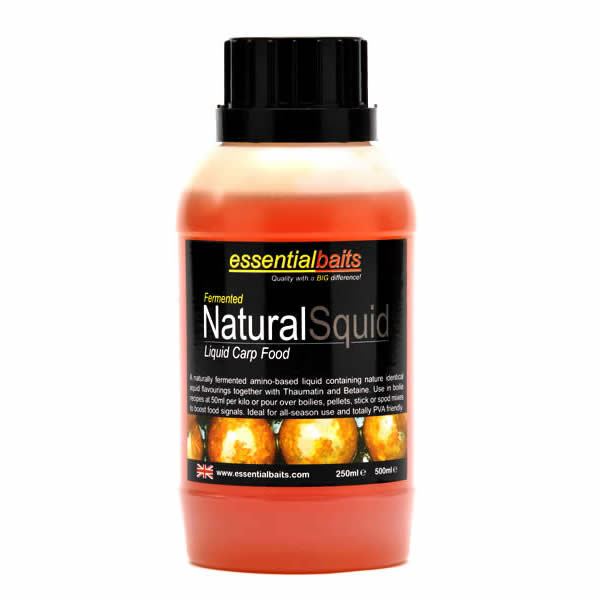 Fermented Natural Squid : Essential Baits, Quality with a ...