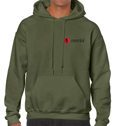 Carpy Green Hoodies